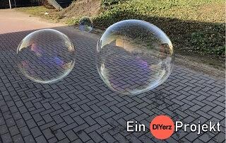 DIY Seifenblasen selber machen (Rezept)
