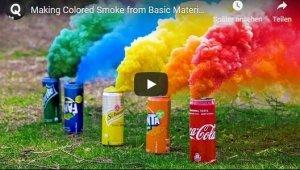 DIY Rauchbombe selber bauen