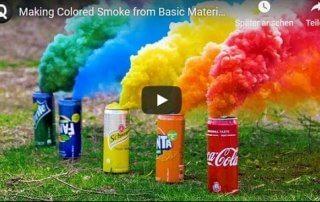 DIY Rauchbomben selber machen