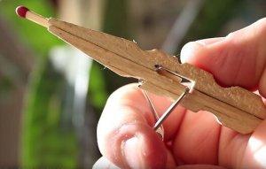 DIY Streichholzpistole selber bauen