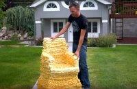 DIY Bauschaum Sessel selber bauen