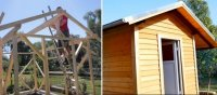 Gartenhaus selber bauen DIY