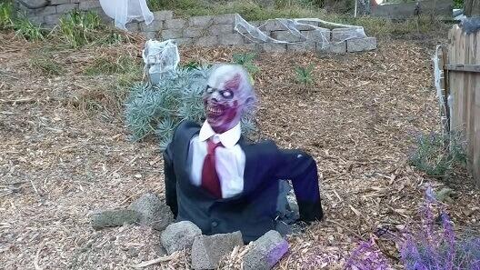 DIY Zombie für Garten selber bauen