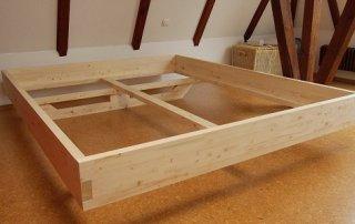 DIY Bett selber bauen