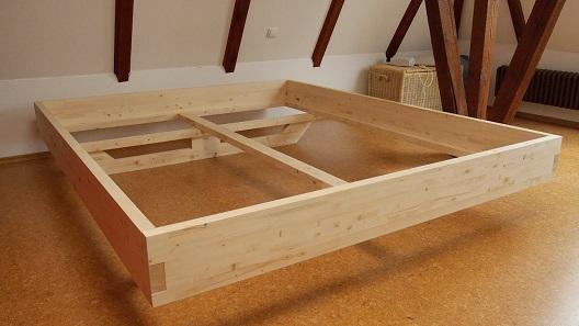 Bett selber bauen DIY